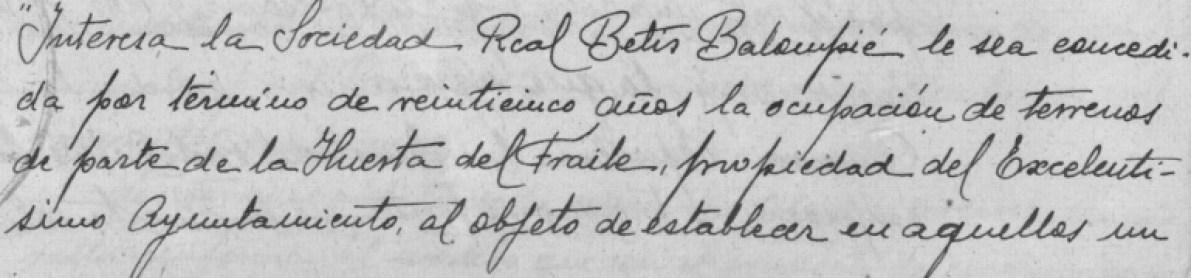 Hoy hace 90 años. Nuevo contrato de cesión del Patronato.