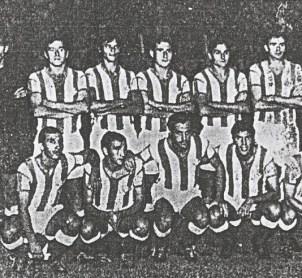 Alineación Betis-Belenenses Amistoso 1970