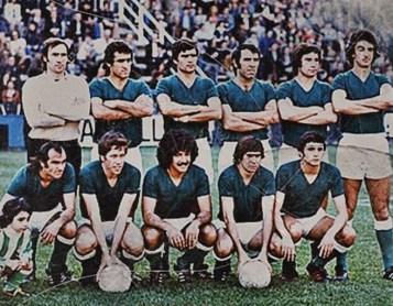 Alineación Espanyol-Betis Liga 1977