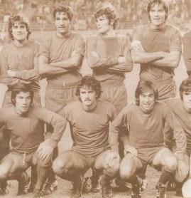 Béticos en la selección. Madrid 1977