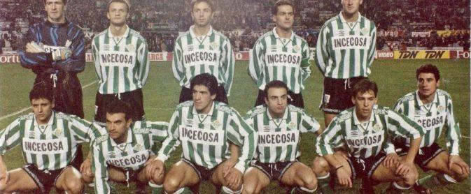 Hoy hace 25 años. Sevilla 0 Betis 1.
