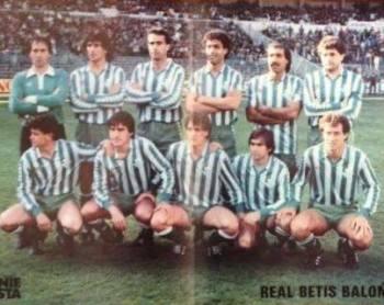 Hoy hace 35 años. Real Madrid 3 Betis 2.
