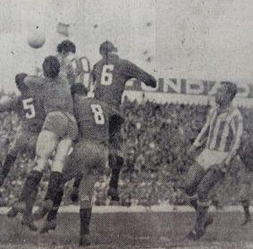 Hoy hace 60 años. Betis 3 Osasuna 0.