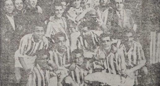 Hoy hace 75 años. Victoria en la Copa Presidente de la Federación Sur