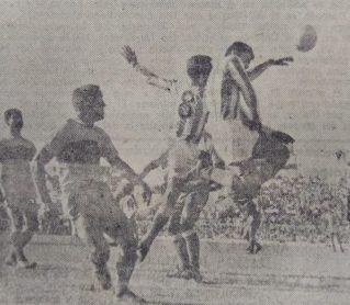 Hoy hace 60 años. Betis 2 Elche 2 en Copa.
