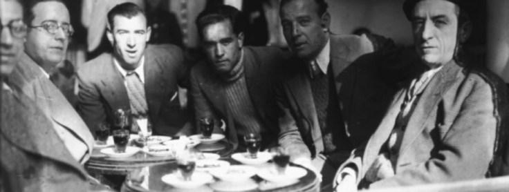 Areso y Aedo en El Escorial 1935