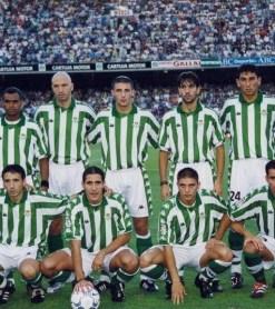Alineación Betis-Espanyol Liga 2001