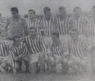 Alineación Betis-Granada Liga 1958