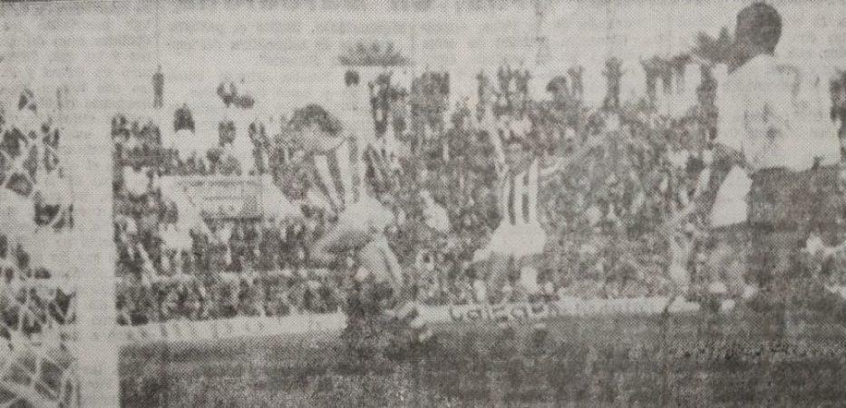 Hoy hace 55 años. Betis 1 Las Palmas 0.