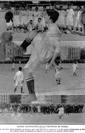 Hoy hace 100 años. Real Madrid 0 Betis 0.