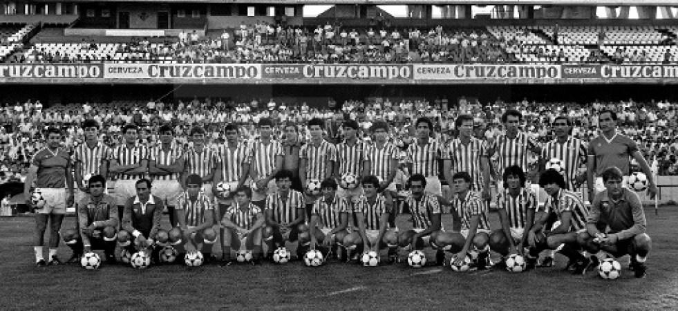 Presentación temporada 1984-85.