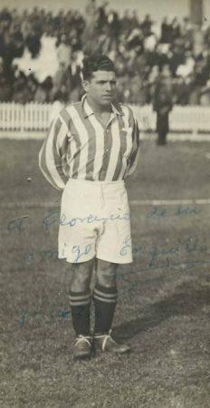 Hoy hace 95 años. Debut de Enrique Garrido.