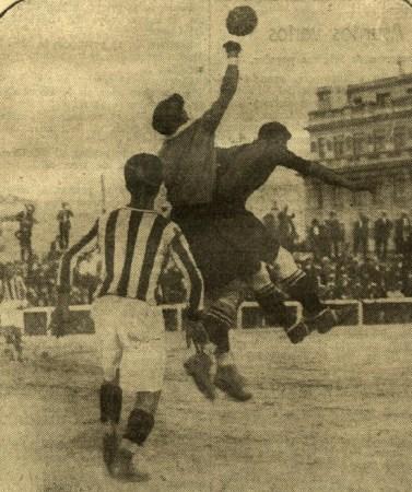 Racing de Madrid-Betis Amistoso 1926.