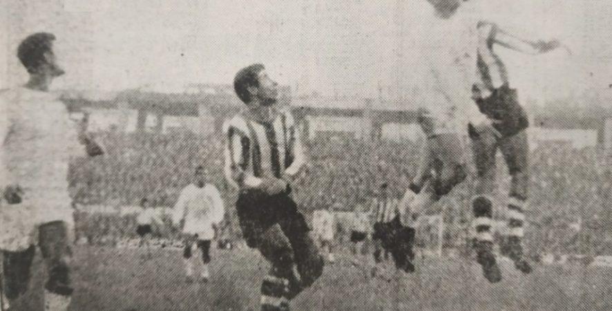 Hoy hace 55 años. Sevilla 1 Betis 1.