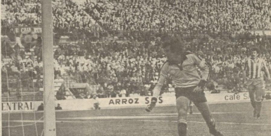 Hoy hace 40 años. Betis 2 Almería 0.