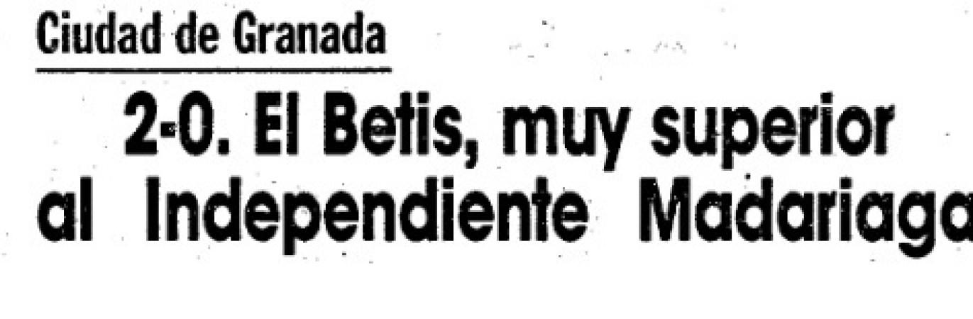 Independiente de Madariaga, el grupo de amigos argentinos que se enfrentó al Betis