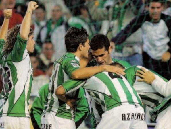 Hoy hace 15 años. Betis 3 Alavés 0 .