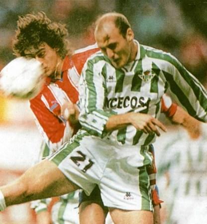 Hoy hace 25 años. Atlético Madrid 1 Betis 1 en Copa.