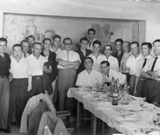 El Betis en Marchena 1962