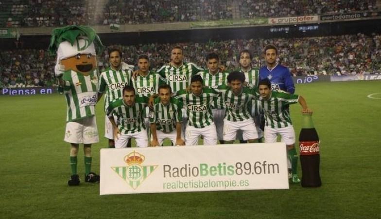 Alineación Betis-Zaragoza Liga 2011.