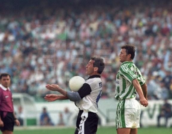 Hoy hace 25 años. Betis 2 Espanyol 3.