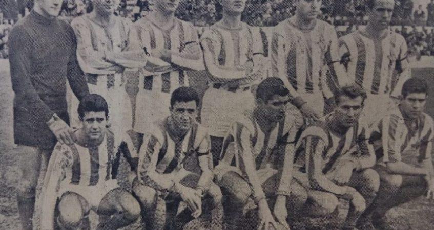 Alineación Betis-Atlético de Madrid Liga 1961.