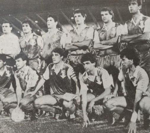 Alineación Recreativo-Betis Trofeo Colombino 1987