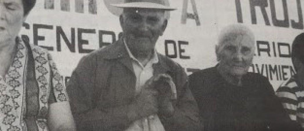 Un centenario viendo al Betis 1985