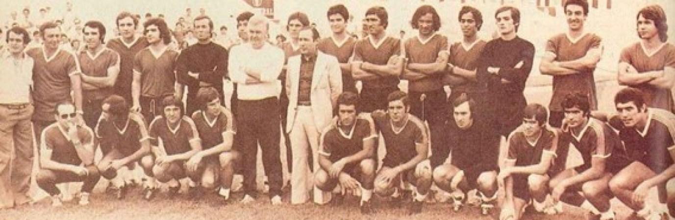 Hoy hace 46 años. Presentación del Betis.