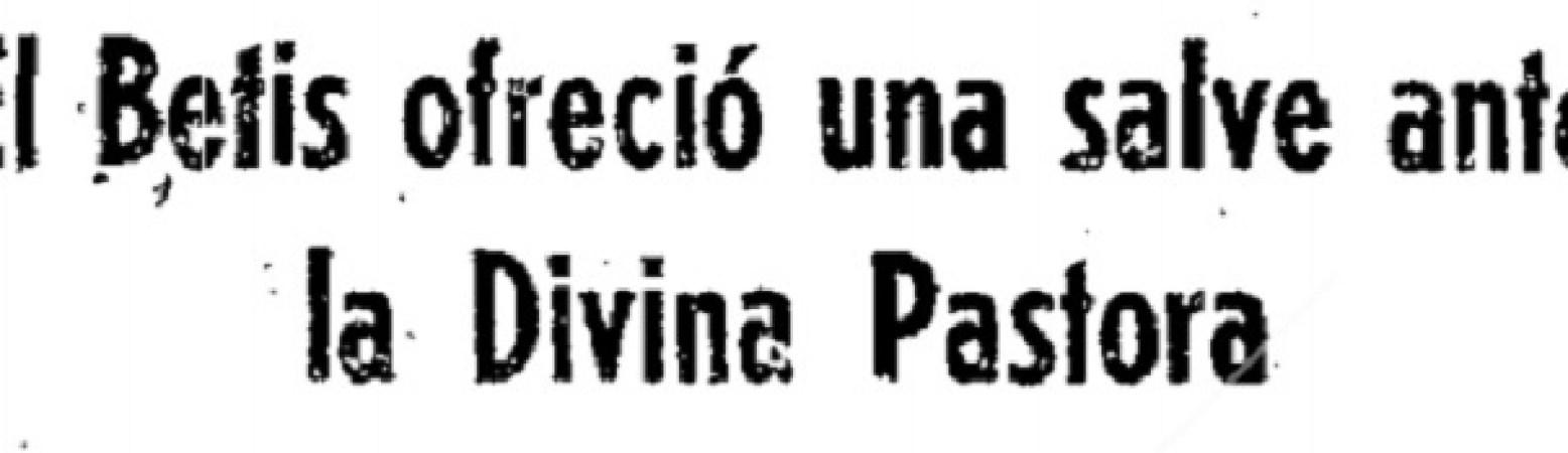 Hoy hace 45 años. Ofrenda a la Divina Pastora en Santa Ana.