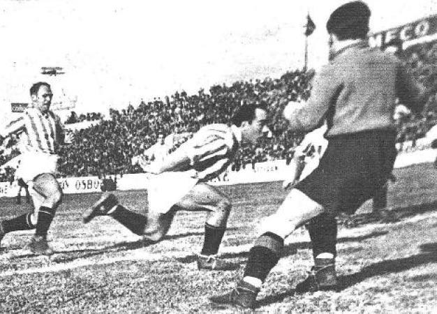 """Los 79 goles de Angel Martín """"Saro""""."""