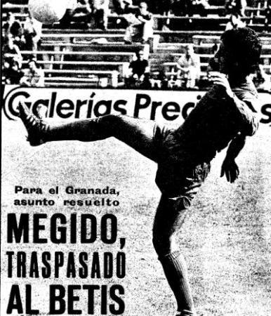 Hoy hace 45 años. Fichaje de Alfredo Megido.