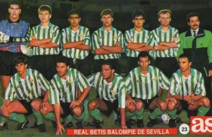 Hoy hace 30 años. Castilla 3 Betis 1.