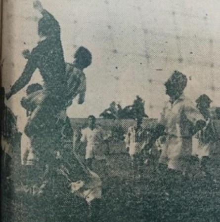 Betis-Larache Liga 1949.