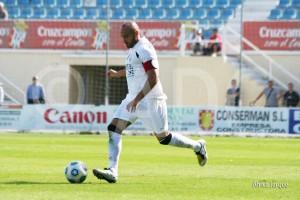 El capitán Pepe Martínez podrá ser de la partida. Foto: Web Ceuta