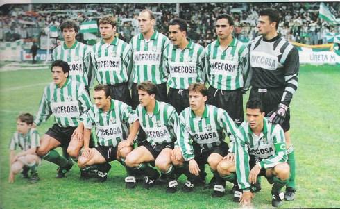 Alineación del Betis en 1994