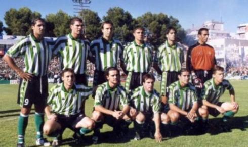 Alineación del Betis en 2001