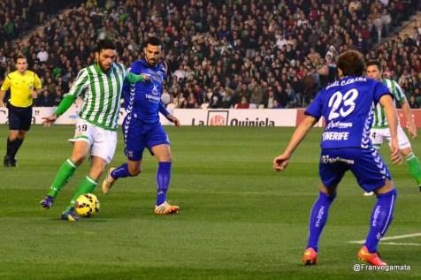 Molina se va de dos contrarios (Betis - Tenerife 14/15)