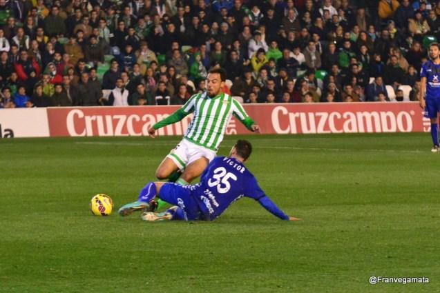 Entró Matilla en la segunda parte (Betis - Tenerife 14/15)