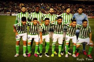 Alineación Real Betis Girona Temporada 2014-2015