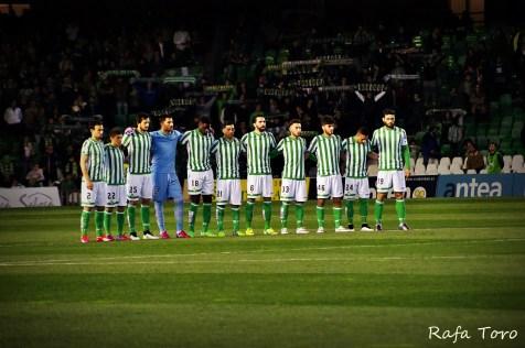 Minuto de silencio (Real Betis 2-1 Girona)