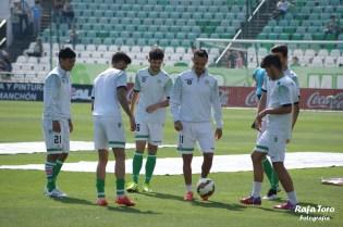 Calentamiento (Real Betis 3-0 Osasuna)