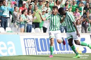 Celebración (Real Betis 3-0 Osasuna)