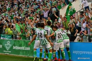 Celebración 1 -0 (Betis-Alcorcon 14/15)