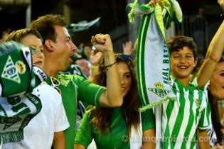 Afición en el encuentro Betis - Alcorcón