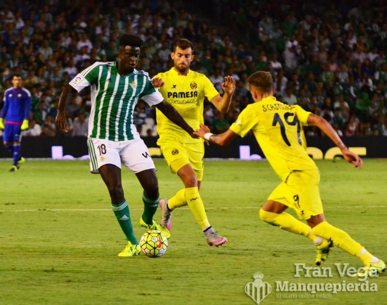N'Diaye de los mejores del partido (Betis - Villarreal 15/16)