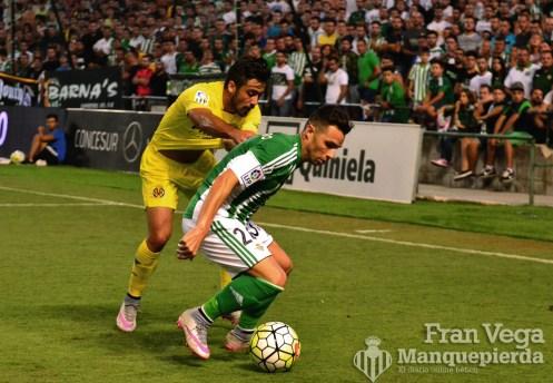 Ruben aguanta el esférico (Betis - Villarreal 15/16)