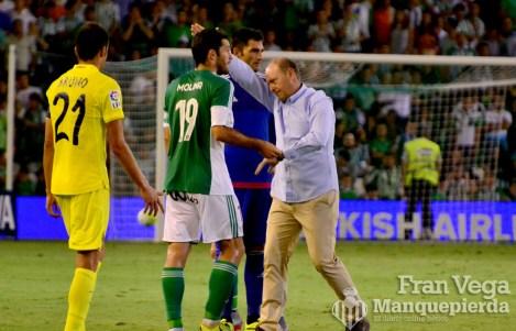 Mel separa a a Molina del Arbitro (Betis - Villarreal 15/16)
