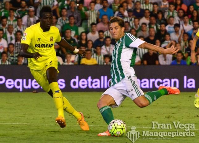 Remate de Cejudo (Betis - Villarreal 15/16)