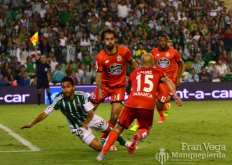 Petros en el area (Betis-Deportivo 15/16)